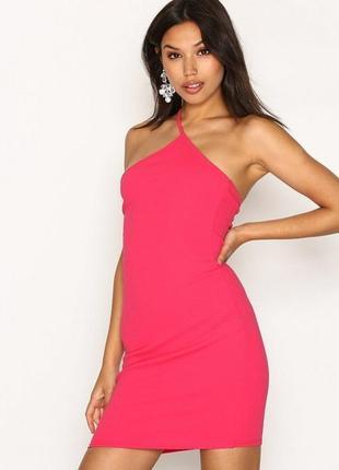 Суперское новое розовое платье р8/s / missguided