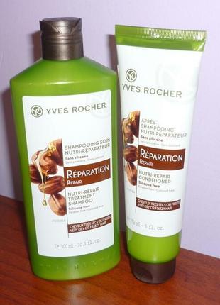 Набор для волос питание и восстановление