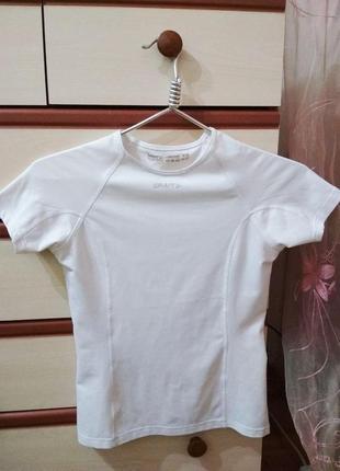Термобелье белая футболка craft