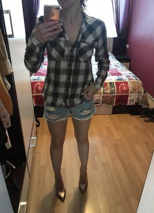 Рубашка блуза хлопок