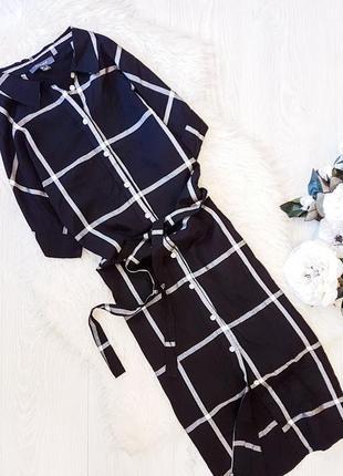 Платье-рубашка в клетку primark