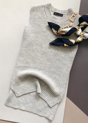 Классная вязаная жилетка marks&spencer