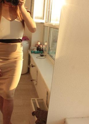 Нежное платье миди new look