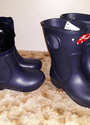 Сапожки детские с теплым носочком унисекс jose amorales  р.20-25