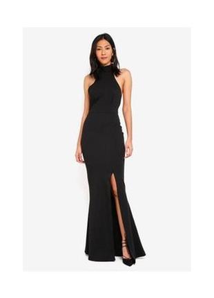 Вечернее платье макси с  вырезом американка missguided