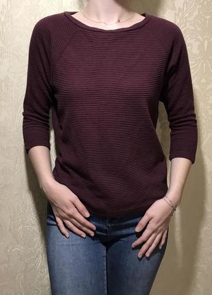 Бордовый свитер от cubus, размер 36/8/s