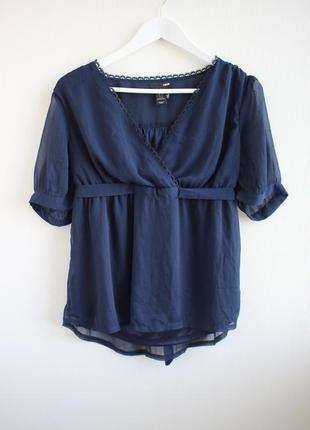 Изумительная шифоновая блуза h&m