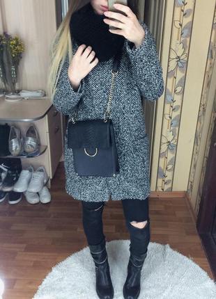 Мега стильная сумочка сумка atmosphere с золотистой фурнитурой