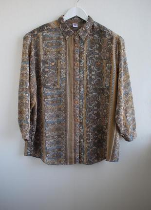 Винтажная блуза от c&a