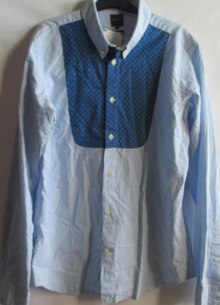 Рубашка s, m, l, xl французского бренда promod оригинал европа франция