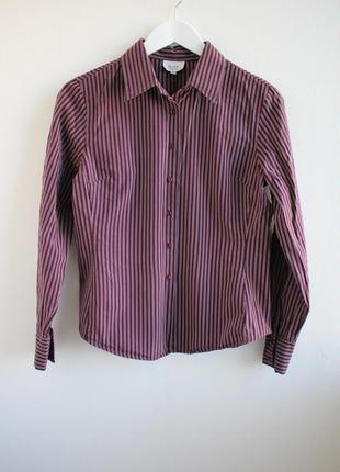 Базовая рубашка в вертикальную полоску review collectin