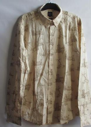 Рубашка французского бренда promod оригинал европа франция