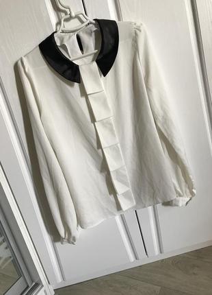 Элегантная блуза для учебы и офиса