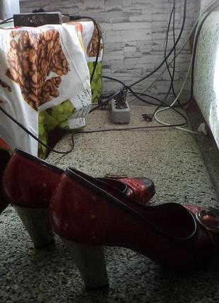 Туфли нарядные,шикарные