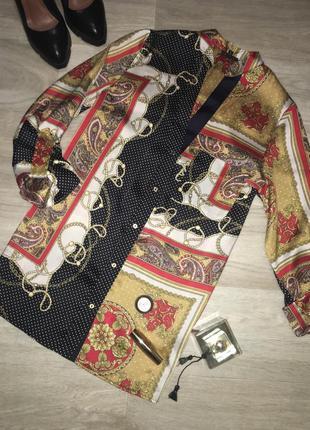 Элегантная блуза в стиле gucci