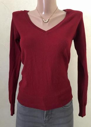 Базовый свитерок, марсала 😍