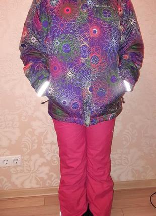 Лыжный костюм(куртка+брюки)