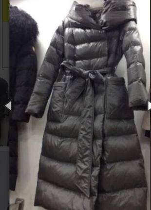 Пуховое пальто armani