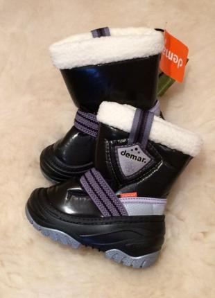 Demar, демар, зимние сапоги, зимние ботинки, зимняя обувь, дутики