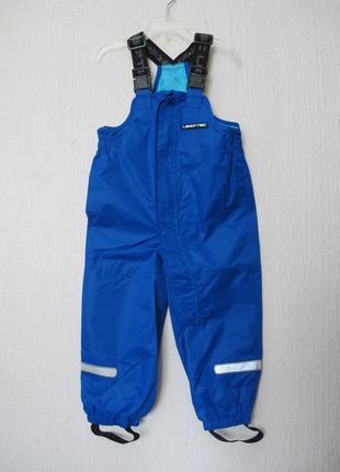Демисезонные дождевые штаны брюки lego wear. дания