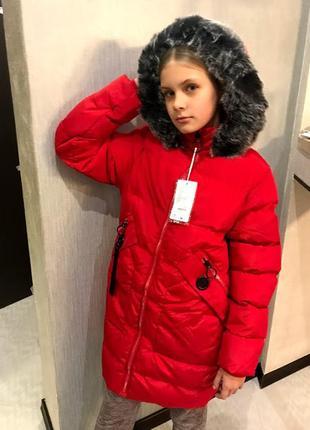 81039d37d5b Зимние пальто для девочек 9 лет 2019 - купить недорого вещи в ...