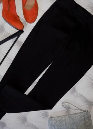 Шикарные черные офисные брючки от h&m
