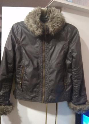 Демисезонная куртка marks & spencer 11 - 12 лет
