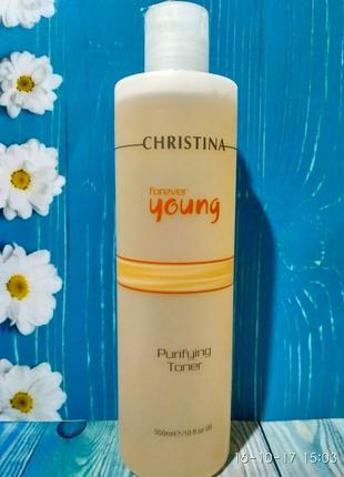 Christina forever young очищающий тоник