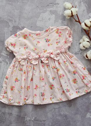 Платье-туника фирменное 3-6