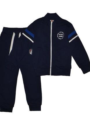 Новый спортивный синий костюм на байке для мальчика, original marines, 1939201