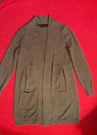 100% кашемировый кардиган с карманами m&s collection pure cashmere