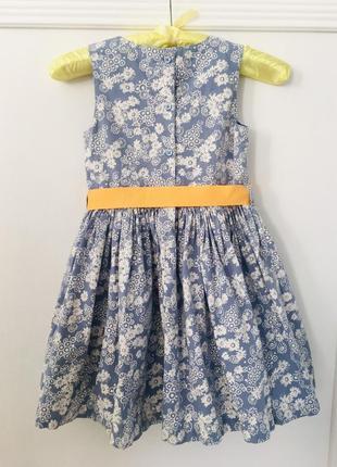 M&s хлопковое платье в цветочек2