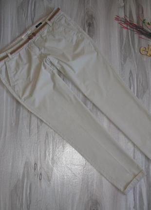"""Стильные брюки """" tom tailor  """"100 % хлопок размер eur 40-42"""