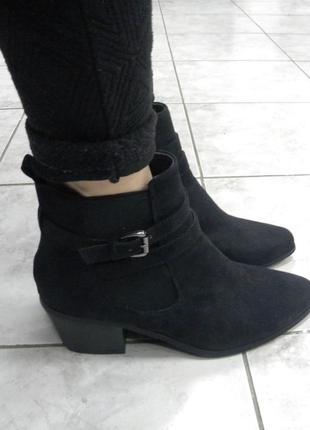 Стильные ботиночки на удобном каблуке