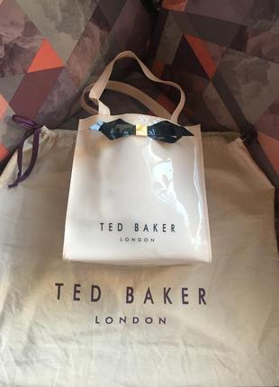 Нюдовая сумочка ted baker