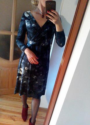 Платье миди стильное элегантное на выход