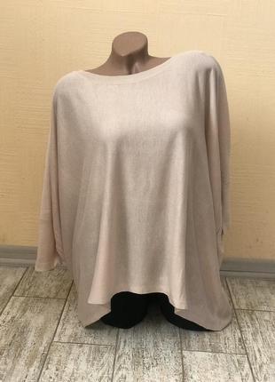 Джемпер блуза оверсайз oversize