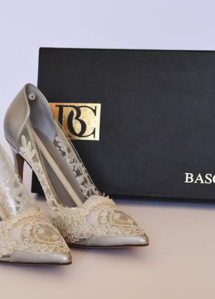 Свадебные (вечерние) туфли basconi