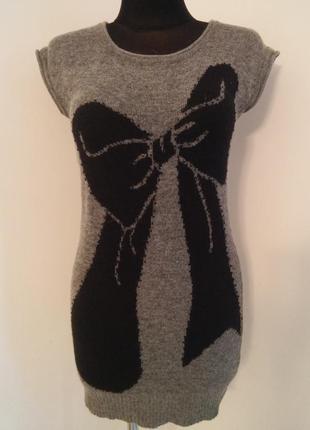 Теплейшее ангоровое платье туника