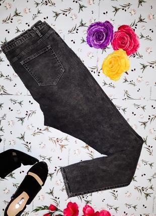 Узкие джинсы с рваными коленями denim co оригинал, размер 52-54