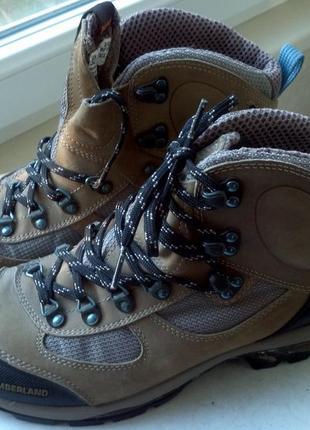 Оригинальные ботинки для хайкинга timberland
