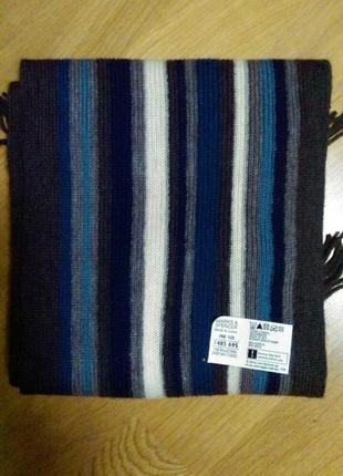 Актуальный теплый шарф