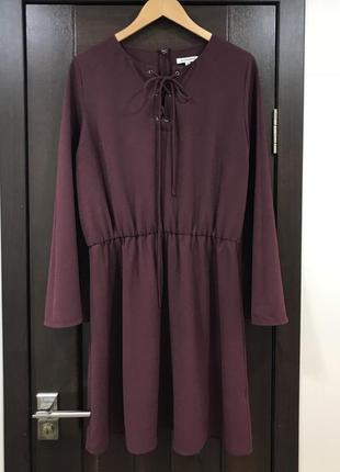 Шикарное платье с завязкой  glamorous