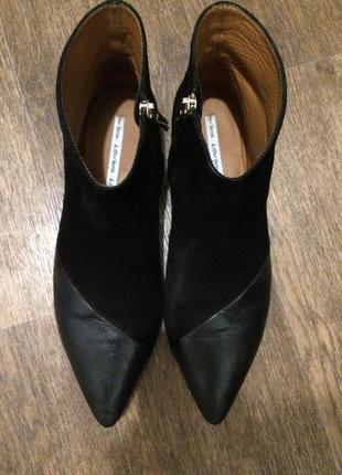 Невероятные кожанные ботинки other stories 40 размер