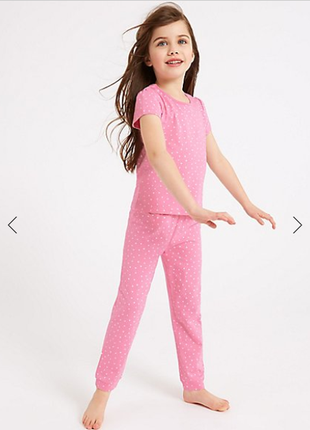 Пижама девочке m&s  3 4 лет