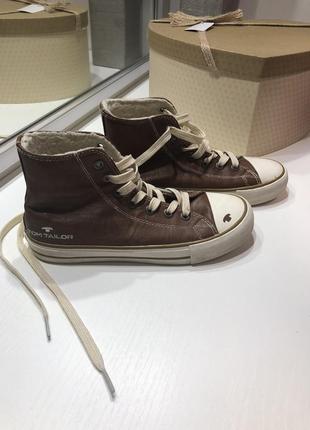 Ботинки  кеды  утепленные tom tailor