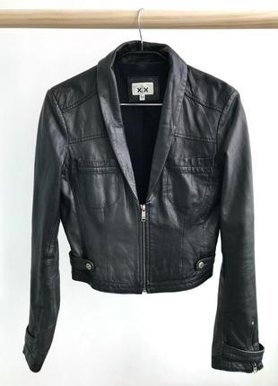 Кожаная куртка mexx