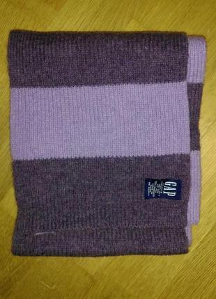 Актуальный шерстяной шарф