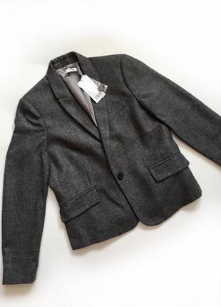 Новый пиджак жакет mango шерсть