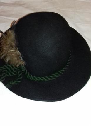 Октоберфест тирольская баварская егерская шляпа охотника